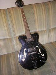 Semi-akustische Gitarre