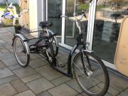 Senioren, Erwachsenen Dreirad