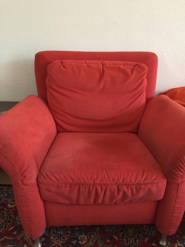 Sessel rotem neu und gebraucht kaufen bei for Roter ohrensessel