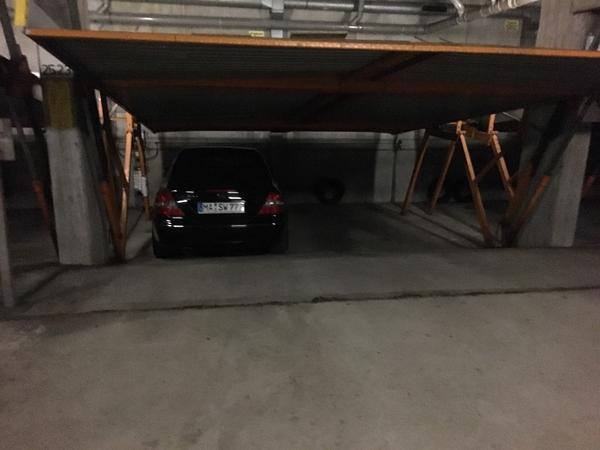 Sichere Garage in perfekter Lage