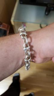 Silber Herren Armband