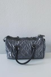 Silberne Handtasche NEU