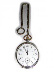 Silberne Taschenuhr von Chateleu mit