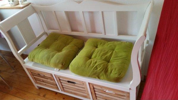sitzbank schlafzimmer wei gebraucht kaufen nur 4 st bis. Black Bedroom Furniture Sets. Home Design Ideas