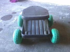 Gartengeräte, Rasenmäher - Sitzwagen für Gartenarbeit