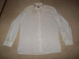 Festliche Abendbekleidung, Damen und Herren - Smokinghemd weiss neu Gr 39