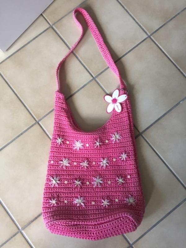 Sommer Handtaschen: Fabrizio Strick neu und andere beide rosa - Starnberg - Sommer Handtaschen: Fabrizio Strick neu und andere beide rosa, Porto 5 - Starnberg