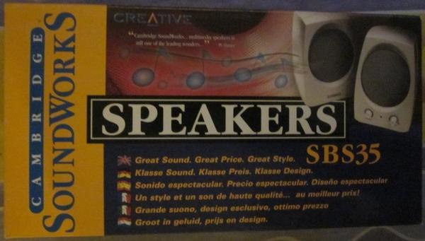 Speakers SBS35 Cambridge Soundworks