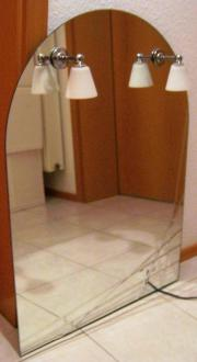 Spiegel für Badezimmer oder WC