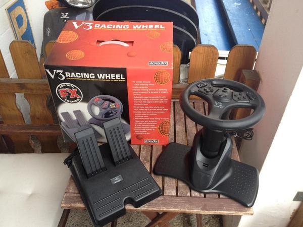 Spielekonsole Controller V3 RACING WHEEL