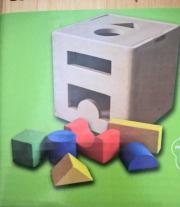 Spielwürfel aus Holz