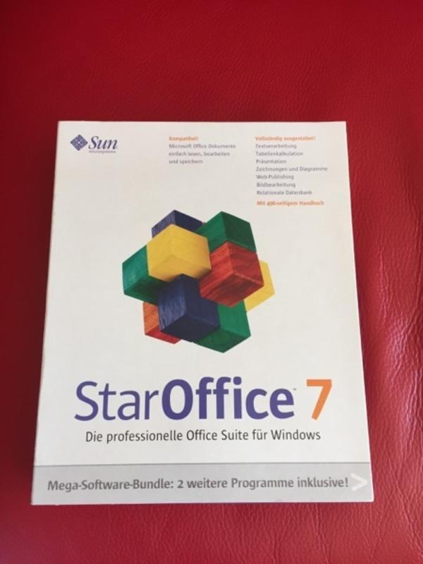 Star Office 7 Software Original