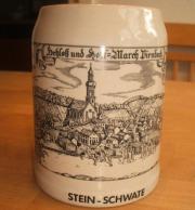 Steinkrug Bierkrug Schloß und Hofmark