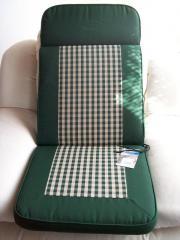 Stuhlauflagen, Hochlehner, 2