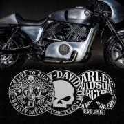 Styling Emblem - Harley