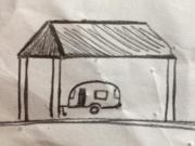 Suche Wohnwagen Innen- Stellplatz überdacht