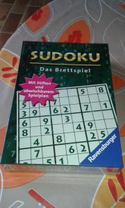 Sudoku . Das Brettspiel