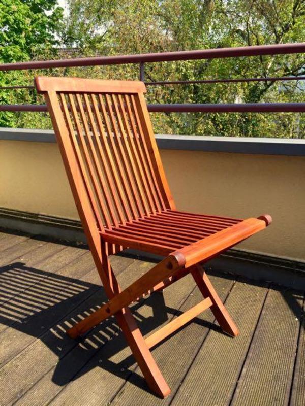 teak-stuhl klapp-stuhl in düsseldorf - gartenmöbel kaufen und,