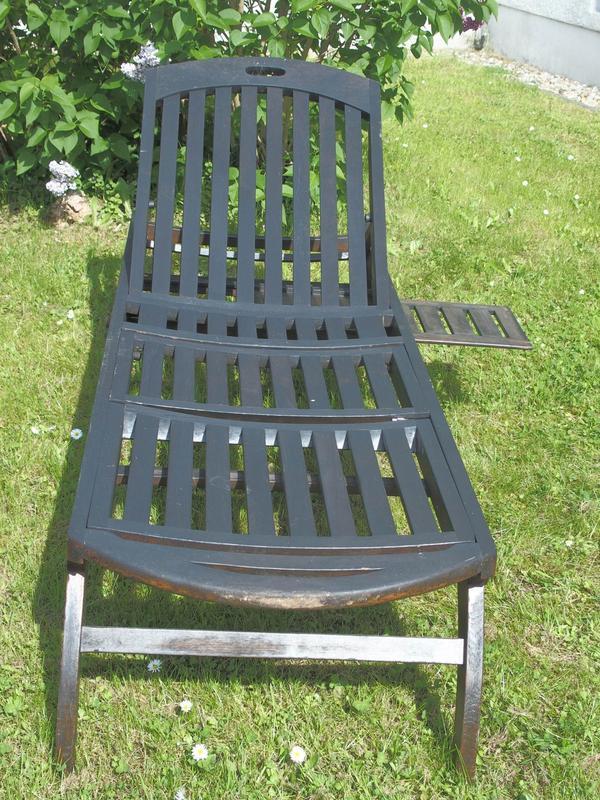 teakholz liege gebraucht kaufen nur 4 st bis 65 g nstiger. Black Bedroom Furniture Sets. Home Design Ideas