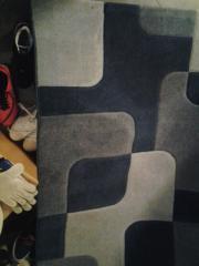 Teppich 133x190, blau