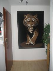 Teppich mit Tigermotiv