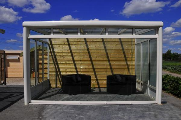 Terrassenüberdachung Grevenbroich terrassenüberdachung aus alu 6060 x 3500 mm mit polycarbonat in