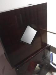 Tisch Lampe Kochtopf Beistelltisch Vorhang