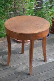 Tisch, rund, antik,