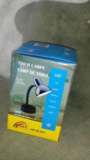 Tischlampe Schreibtisch Schwanenhals Lampe schwarz