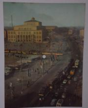 Tonbildpostkarte Opernhaus Leipzig