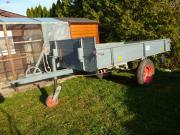 Traktoranhänger Einachser