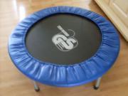 Trampolin, Blau, (Durchmesser: