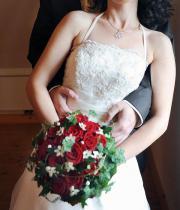 Traumhaft schönes Hochzeitskleid