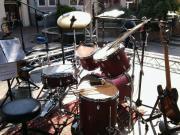Trommler sucht Band :