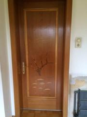 Türen mit Einlegearbeiten