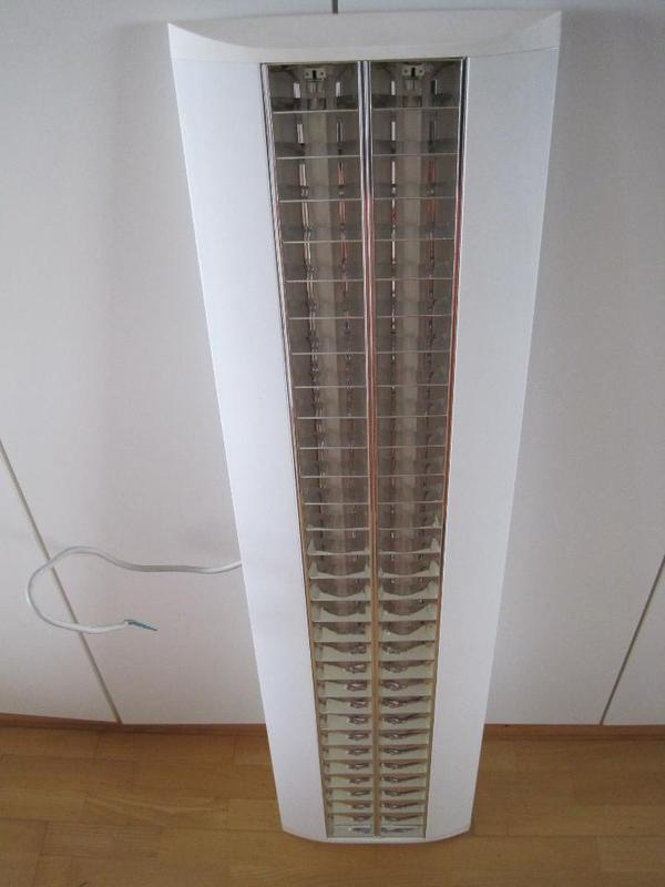 Universal Büro-Rasterleuchte 2 x 28W