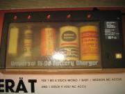 Universal Ladegerät für NC-Batterien Ladestation