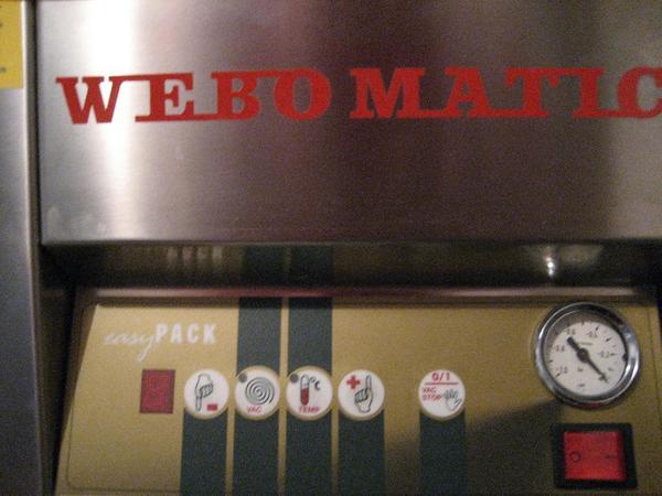 Vacummaschine Verpacken Vacuumieren Webomatic Easy