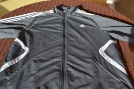 Herrenbekleidung - Verkaufe adidas Trainingsjacke grau
