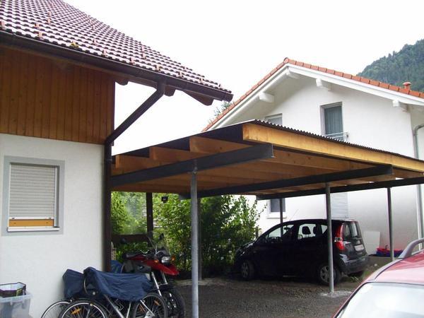 verkaufe carports terrassenuberdachung verkleidet oder With französischer balkon mit garten carport