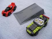 Verkaufe zwei LEGO Racers Cars