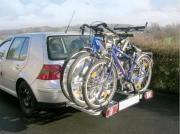 Vermietung Fahrradträger für Anhängerkupplung AHK