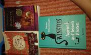 Verschidene Bücher Mädchen
