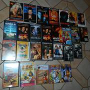 Verschiedene VHS Kassetten