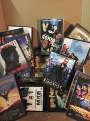VHS Spielfilme 18 Stück und