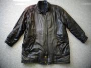 Vintage - Jacke Lederjacke Parka Echt