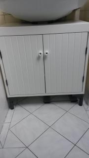 Waschbeckenunterschrank IKEA Silveran weiß in Frankfurt - Bad ... | {Waschbeckenunterschrank ikea 39}