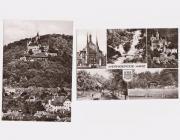 Wernigerode 2 Postkarten echt Foto