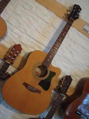 Westerngitarre Ibanez V205SECE-NT inkl Gigbag