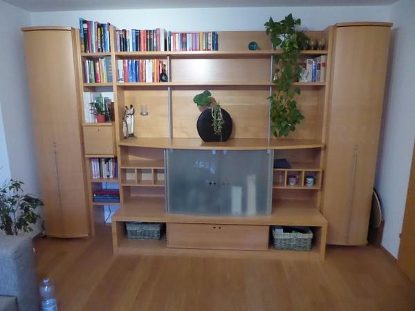 Wohnzimmerschrank in ahorn massivholz in lauterach for Wohnzimmerschrank ahorn